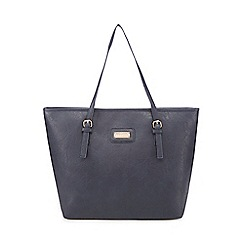 Kangol - Navy shopper bag