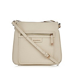 Kangol - Cream cross body bag