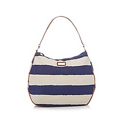 Kangol - Navy striped shoulder bag