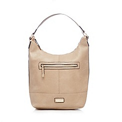 Kangol - Taupe medium shoulder bag