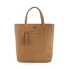 Osprey London - Tan leather large tote bag