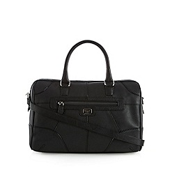 Osprey London - Black leather tote bag