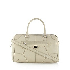 Osprey London - Cream leather tote bag