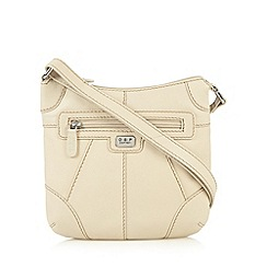 Osprey London - Cream leather cross body bag
