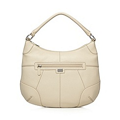 Osprey London - Cream leather shoulder bag