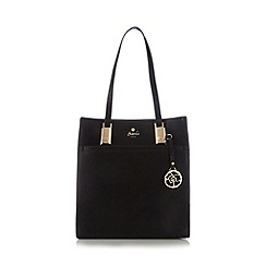 Sacha - Black long handle shopper bag