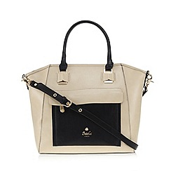 Sacha - Cream large winged tote bag