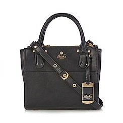 Sacha - Black triple compartment grab bag