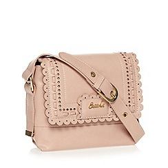 Sacha - Pink scalloped range cross body bag