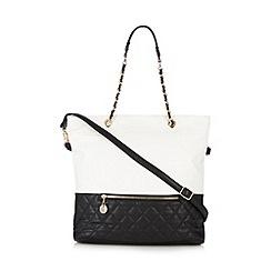 Call It Spring - Black colour block 'Gebauer' bag