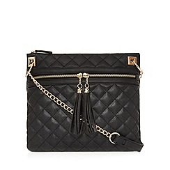 Call It Spring - Black 'Paciolla' cross body bag