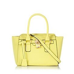Call It Spring - Lime 'Athens' winged tote bag