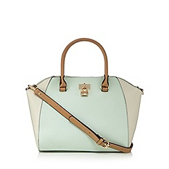 Call It Spring - Pale green 'Sobieski' winged tote bag
