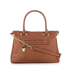 Call It Spring - Tan 'Salazer' tote bag