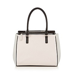 Versace Jeans - Pale pink colour block tote bag