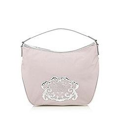Versace Jeans - Pink logo hobo bag