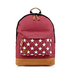 Mi-Pac - Burgundy star backpack