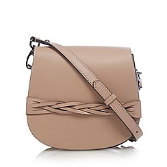 Clarks - Pale pink 'Tender Love' leather shoulder bag