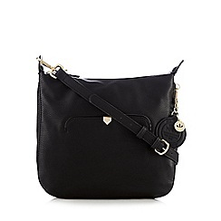 Nica - Black 'Lillie' cross body bag
