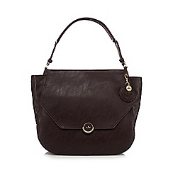 Nica - Dark red 'Rhea' shoulder bag