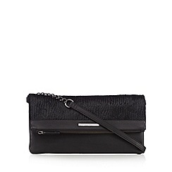 Todd Lynn/EDITION - Designer black pony hair cross body bag