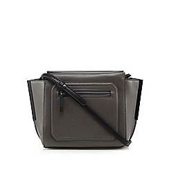 Todd Lynn/EDITION - Designer grey winged cross body bag