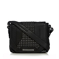 Todd Lynn/EDITION - Black leather cross body bag