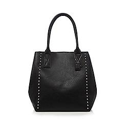 Clarks - Black studded winged grab bag