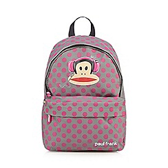Paul Frank - Grey polka dot backpack
