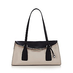 Fiorelli - Cream 'Jodie East West' fold over shoulder bag