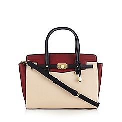 Fiorelli - Red 'Luella' colour block grab bag