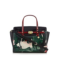 Fiorelli - Black 'Luella' floral grab bag
