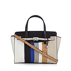 Fiorelli - Cream 'Luella' colour striped grab bag