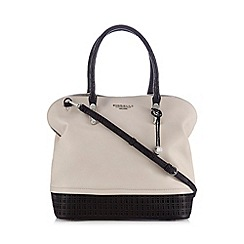 Fiorelli - Cream 'Broghan' cutout trim shoulder bag
