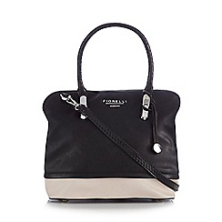 Fiorelli - Black 'Emme' mock snake handle grab bag