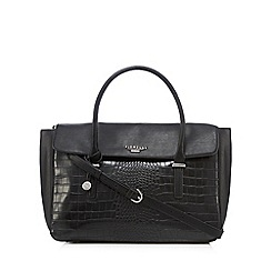 Fiorelli - Black 'Delainie' snakeskin effect grab bag