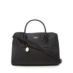 Fiorelli - Black logo plate triple compartment tote bag