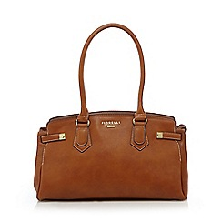 Fiorelli - Tan 'Amber East West' shoulder bag
