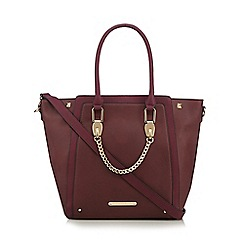 LYDC - Purple chain shopper bag