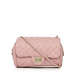 Marc B - Light pink quilted cross body bag