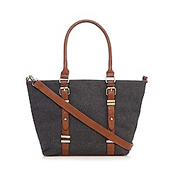 Call It Spring - Grey 'Volker' winged shoulder bag