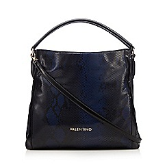 Valentino - Dark blue 'Dada' shopper bag
