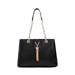 Valentino - Black 'Diva' shopper bag