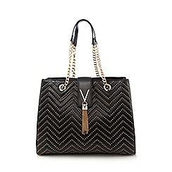 Valentino - Black studded grab bag