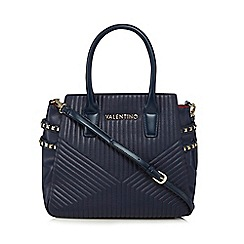 Valentino - Navy shopper bag