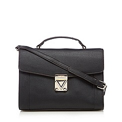 Valentino - Black triangle satchel bag