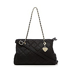 Marc B - Black 'Kate' quilted shoulder bag
