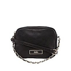 Faith - Black two section chain grab bag