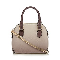 Faith - Mauve ombre micro dome bag