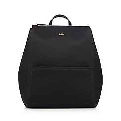 Faith - Black grained backpack